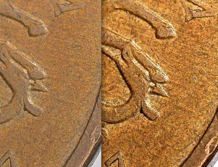 полтинник 2007 года без знака монетного двора