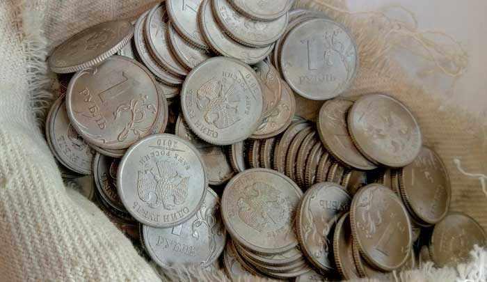 ценные монеты современной России номиналом 1 рубль