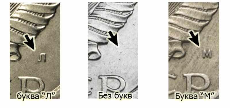 буквы Л, М и без букв советские монеты