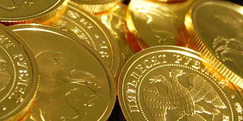 в банках монеты