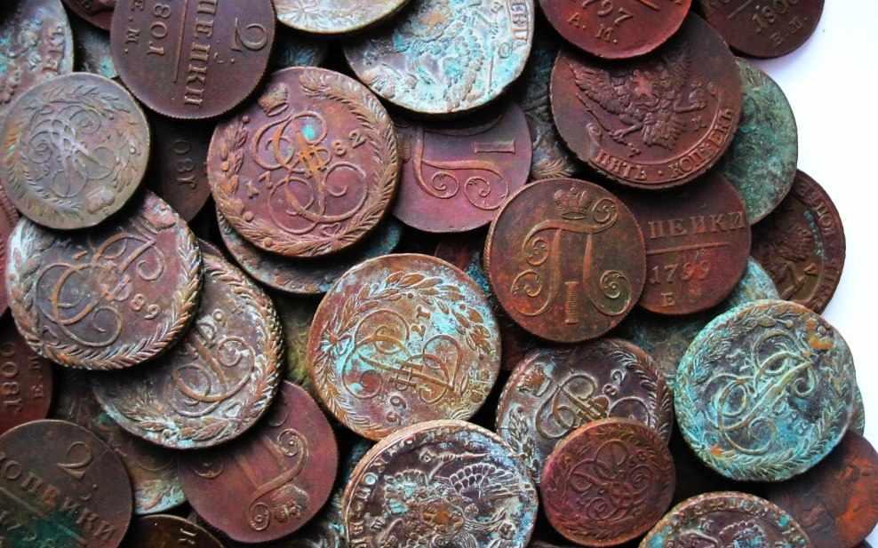 Чистка монет СССР в домашних условиях