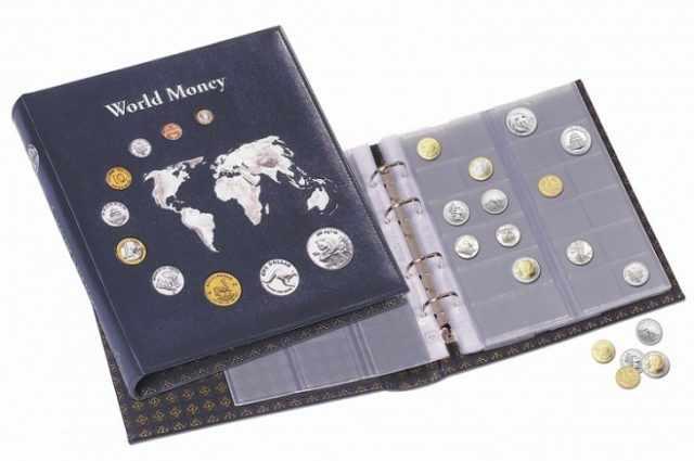 Альбомы для коллекционирования монет