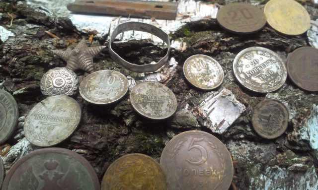 Поиск монет, открытие сезона 2017, видео