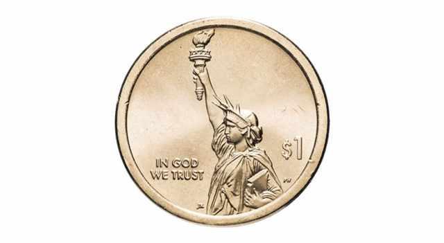 Монета 1 доллар
