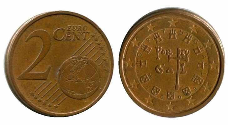 Португальские евроценты