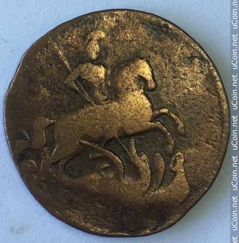 Монета &gt, 1деньга, 1757-1760 - Россия - obverse