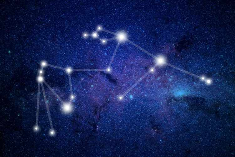 контур созвездия