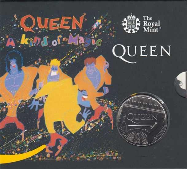 монеты Queen (блистер)