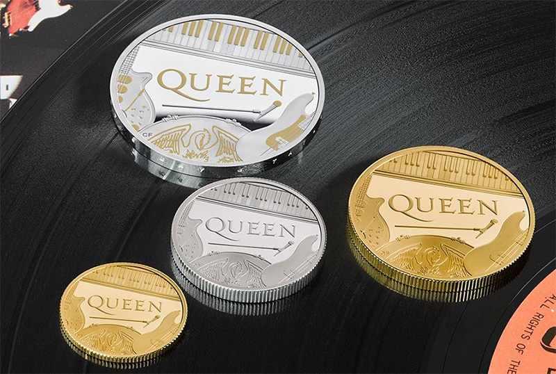 монеты Queen